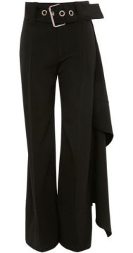 Full Length Handkerchief Belted Trousers - Jw Anderson