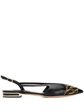 Pointed Toe Sandal - Casadei