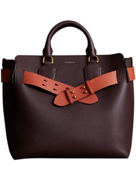 The Medium Leather Belt Bag - Burberry