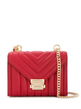Quilted Chevron Cross Body Bag - Michael Kors Collection