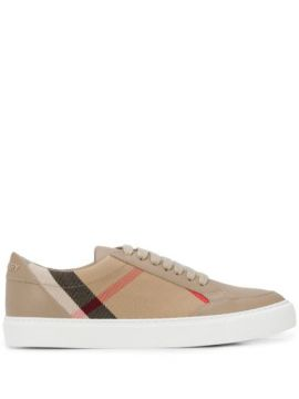 House Check Sneakers - Burberry