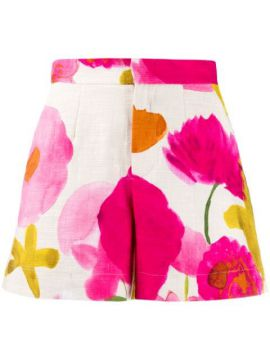 Floral Fitted Short - La Doublej