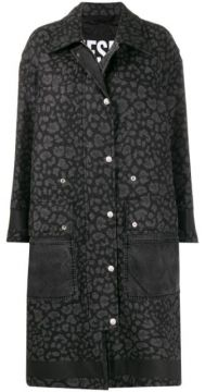 Animal Print Coat - Diesel