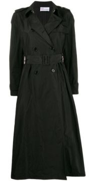 Shell Trench Coat - Red Valentino