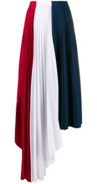 Asymmetric Plated Skirt - Atu Body Couture