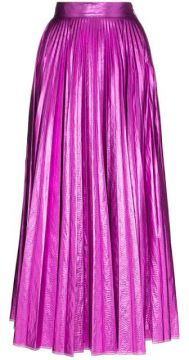 Metallic Pleated Skirt - Christopher Kane