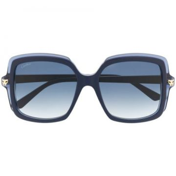 Pantheré Oversized Square Frame Sunglasses - Cartier