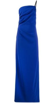 Ruched Evening Gown - Boutique Moschino