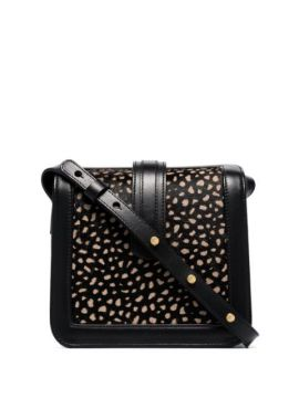 Black Jade Speckled Leather Bag - Complét
