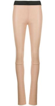 Skinny-fit Leather Trousers - Drome