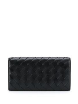 Continental Leather Wallet - Bottega Veneta