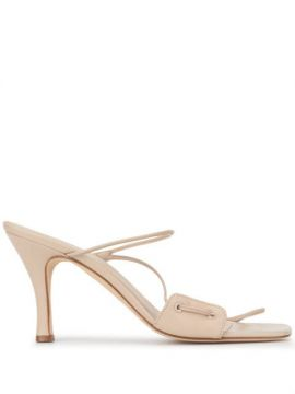 Alexa Curved Strap Sandals - Christopher Esber
