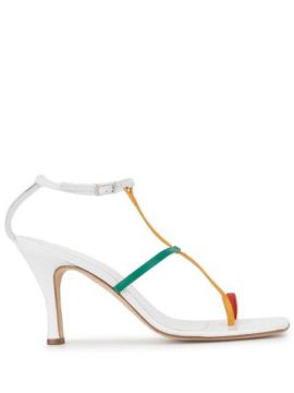 Rubik Tri-colour Sandals - Christopher Esber