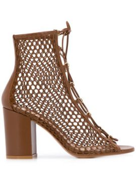 Caged High Heel Sandals - Gianvito Rossi