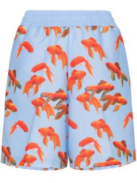 Goldfish Print Short - Browns X Sara Shakeel