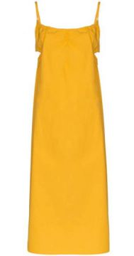 Yeraz Side Cutout Cotton Midi Dress - Araks