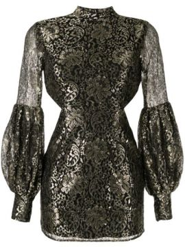 High Neck Cut-out Dress - Alice Mccall
