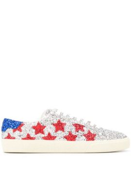 Court Classic Glitter Sneakers - Saint Laurent