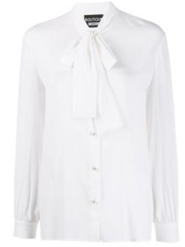 Pussy-bow Shirt - Boutique Moschino