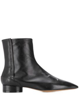 Ankle Boot Com Costura - Maison Margiela