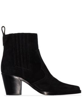 Ankle Boot Western - Ganni