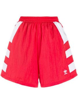 High-waisted Trefoil Short - Adidas