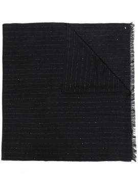 Stripe Detail Scarf - Saint Laurent