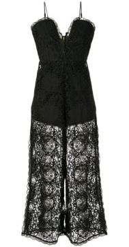 Lace Overlay Jumpsuit - Alice Mccall
