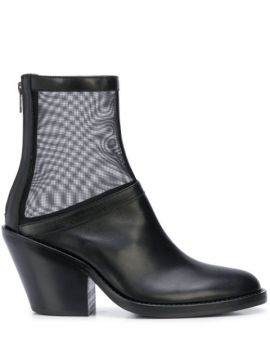Mesh Ankle Boots - Ann Demeulemeester