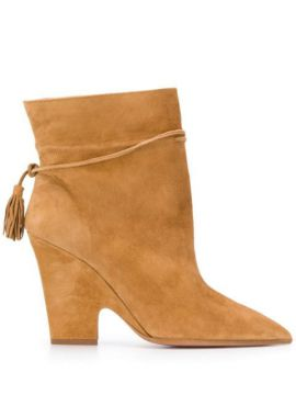 Sartorial 95mm Booties - Aquazzura