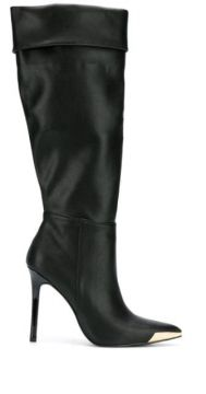 Pointed Knee-length Boots - Versace Jeans Couture