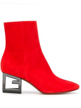 G Heel Ankle Boots - Givenchy