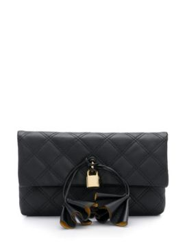 Sofia Loves Padlock Detail Clutch Bag - Marc Jacobs