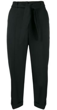 High-rise Cropped Trousers - Christian Wijnants