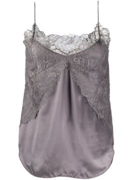 Lace-embroidered Camisole Top - Iro