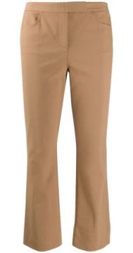 Cropped Tailored Trousers - Theory