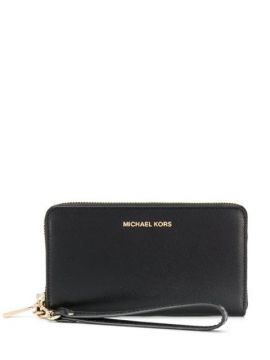 Large Grained-effect Wallet - Michael Michael Kors