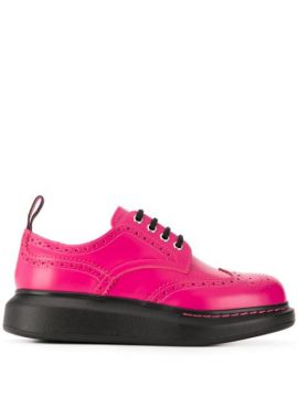 Hybrid Leather Brogues - Alexander Mcqueen