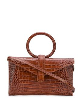 Valery Crocodile-effect Tote Bag - Complét