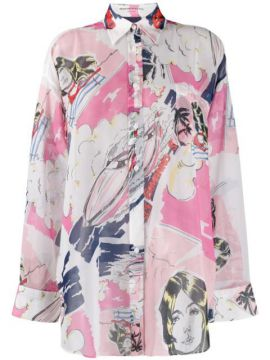Digital Print Shirt - Ermanno Scervino