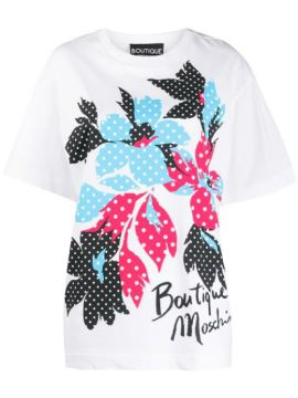 Digital Print T-shirt - Boutique Moschino