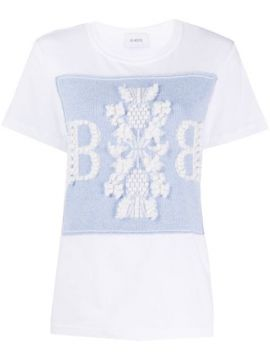 Crew-neck Embroidered T-shirt - Barrie