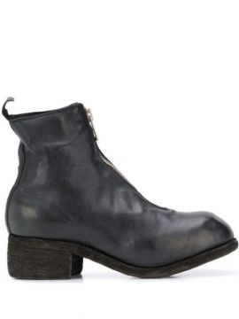 Vintage Look Ankle Boots - Guidi
