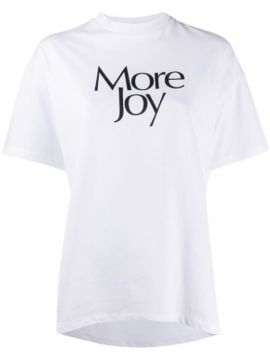 More Joy Print T-shirt - Christopher Kane