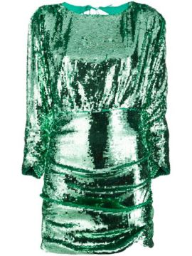 Sequin Ruched Mini Dress - For Love And Lemons