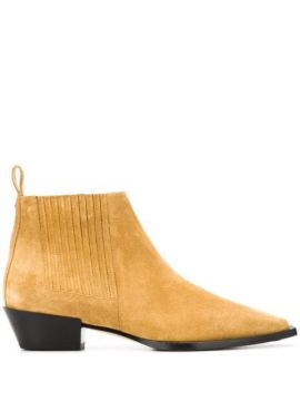 Suede Ankle Boots - Aeyde