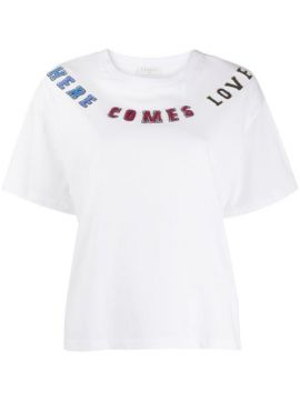 Here Comes Love T-shirt - Sandro Paris