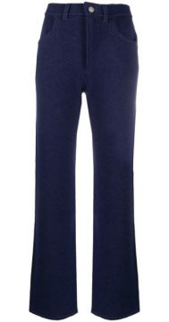 Knitted Flared Trousers - Barrie
