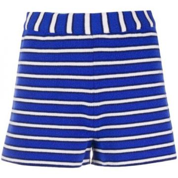 Striped Cashmere Short - Barrie