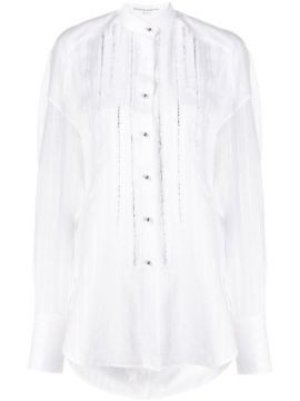 Embellished Stripes Shirt - Ermanno Scervino